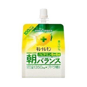 キレートレモン 朝バランスゼリー パウチ ( 180g*6本入 )/ キレートレモン
