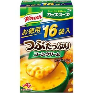 クノール カップスープ つぶたっぷりコーンクリーム ( 16袋入 )/ クノール