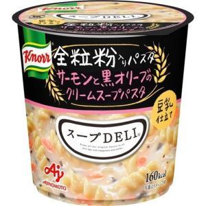 クノール スープDELI 豆乳仕立て サーモンと黒オリーブのクリームスープパスタ ( 1コ入 )/ クノール