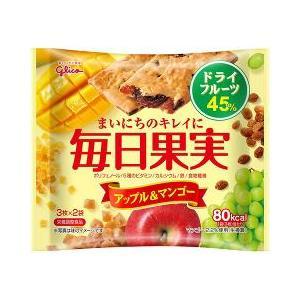 毎日果実 アップル&マンゴー ( 3枚*2袋入 )/ 毎日果実 ( お菓子 おやつ )
