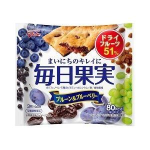 毎日果実 プルーン&ブルーベリー ( 3枚*2袋入 )/ 毎日果実 ( お菓子 おやつ )