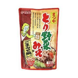 まつや とり野菜みそ ごまみそ鍋スープ ( 720g )