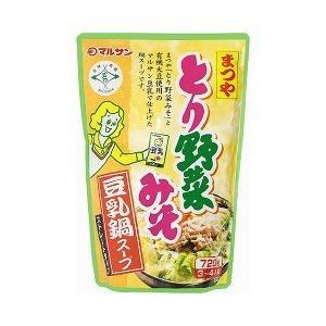 まつや とり野菜みそ 豆乳鍋スープ ( 720g )