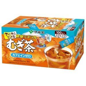 伊藤園 さらさら健康ミネラルむぎ茶 スティックタイプ ( 0.8g*100本入 )/ 健康ミネラルむぎ茶 ( 麦茶 )|soukai