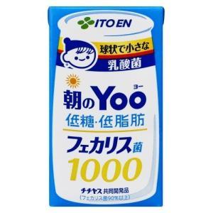 朝のYoo フェカリス菌1000 低糖・低脂肪 ( 125mL*24本入 )