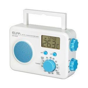 エルパ お風呂ラジオ ブルー ER-W30F(BL) ( 1コ入 )/ エルパ(ELPA)|soukai