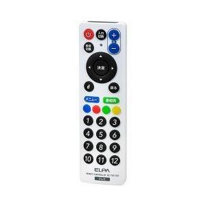 エルパ スリムテレビリモコン RC-TV013UD ( 1コ入 )/ エルパ(ELPA)|soukai