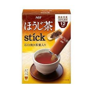 AGF ほうじ茶スティック 石臼挽き茶葉入り ( 0.8g*12本入 )