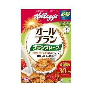 ケロッグ オールブラン ブランフレーク・プレーン 徳用箱 ( 435g ) ( 激安 )