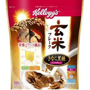 ケロッグ 玄米フレーク きなこ黒糖 袋 ( 200g )