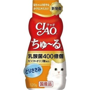 チャオ 乳酸菌 ちゅーる とりささみ ( 120g )/ チャオシリーズ(CIAO)|soukai
