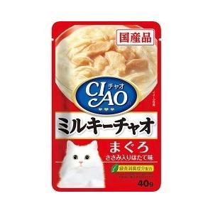 いなば チャオ ミルキーチャオ まぐろ ささみ入り ほたて味 ( 40g )/ チャオシリーズ(CIAO)