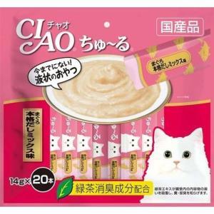 チャオ ちゅーる まぐろ 本格だしミックス味 ( 14g*20本入 )/ ちゅ〜る|soukai