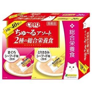 ちゅ-るアソート 2種の総合栄養食 ( 14g*40本 )|soukai