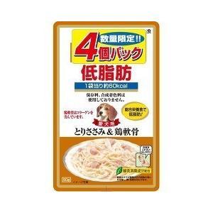 (お得)いなば 低脂肪 とりささみ&鶏軟骨 ( 80g*4コ入 )/ 低脂肪シリーズ