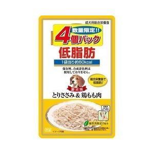 (お得)いなば 低脂肪 とりささみ&鶏もも肉 ( 80g*4コ入 )/ 低脂肪シリーズ