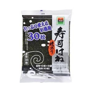 大森屋 寿司はね焼のり ( 全形10枚*3袋入 )
