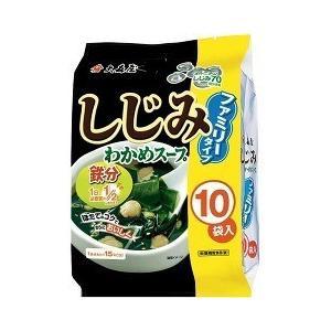 大森屋 しじみわかめスープ ファミリータイプ ( 5.4g*10袋入 ) ( わかめスープ )