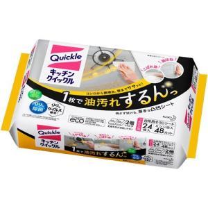 キッチンクイックル つめかえ用 ジャンボパック ( 24枚入 ) ( キッチン用洗剤 花王 )