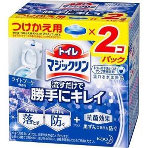 トイレマジックリン トイレ用洗剤 流すだけで勝手にキレイ ライトブーケ 付け替え ( 80g*2個入...