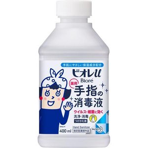 ビオレu 手指の消毒スプレー スキットガード 置き型 つけかえ用 ( 400mL )/ ビオレU(ビオレユー) soukai