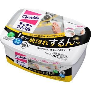 キッチンクイックル 容器入 ( 10枚入 )/ クイックル|soukai