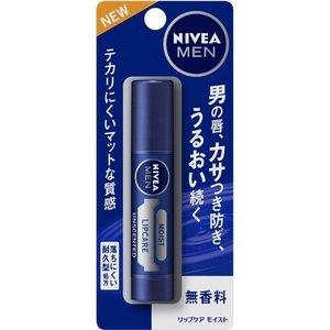 ニベアメン リップケア モイスト 無香料 ( 3.5g )/ ニベア ( リップクリーム )