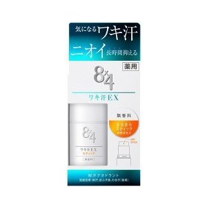 エイトフォー ワキ汗EX スティック 無香料 ( 15g )/ 8X4(エイトフォー) ( 花王 )