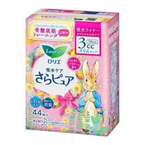 ロリエ さらピュア スリムタイプ 3cc パウダリーフラワーの香り ( 44枚入 )/ ロリエ|soukai