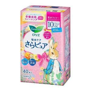 ロリエ さらピュア スリムタイプ 10cc パウダリーフラワーの香り ( 40枚入 )/ ロリエ|soukai