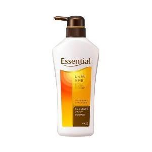 エッセンシャル しっとりツヤ髪 シャンプー ポンプ ( 480mL )/ エッセンシャル(Essential)|soukai