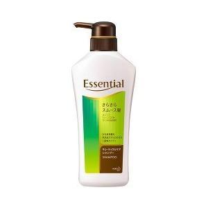 エッセンシャル さらさらスムース髪 シャンプー ポンプ ( 480mL )/ エッセンシャル(Essential)|soukai