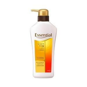 エッセンシャル しっとりツヤ髪 コンディショナー ポンプ ( 480mL )/ エッセンシャル(Essential)|soukai