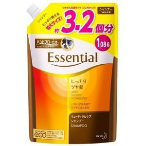 エッセンシャル しっとりツヤ髪 シャンプーつめかえ用 ( 1080mL )/ エッセンシャル(Essential)|soukai