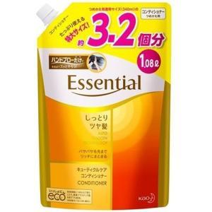 エッセンシャル しっとりツヤ髪 コンディショナー つめかえ用 ( 1080mL )/ エッセンシャル(Essential)|soukai