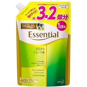 エッセンシャル さらさらスムース髪 コンディショナー つめかえ用 ( 1080mL )/ エッセンシャル(Essential)|soukai