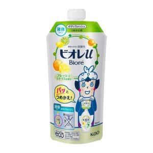 ビオレu ボディウォッシュ フレッシュシトラスの香り つめかえ用 ( 340mL )/ ビオレU(ビオレユー)|soukai