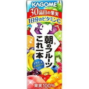 カゴメ 朝のフルーツこれ一本 ( 200mL*12本入 )/...