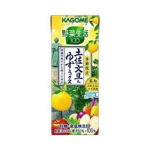野菜生活100 土佐文旦&ゆずミックス ( 200mL*12本入 )/ 野菜生活