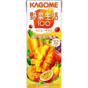 カゴメ 野菜生活100 フルーティーサラダ ( 200mL*12本入 )/ 野菜生活 ( 野菜生活 カゴメ 野菜生活100 200ml 野菜ジュース )