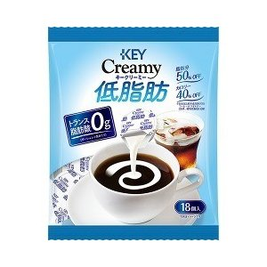 (訳あり)キーコーヒー クリーミー低脂肪ポーション ( 18...