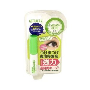 アストレアヴィルゴアイラッシュグルーEXブラッシュオンタイプ3クリア(30g)/アストレアヴィルゴ(つけまつげ接着剤コスメ化粧品)