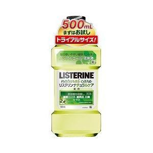 薬用リステリン ナチュラルケア ( 500mL )/ LISTERINE(リステリン) ( マウスウォッシュ 洗口液 デンタルリンス口臭対策予防 )