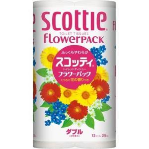 スコッティ フラワーパック ダブル 12ロール スコッティ scottie