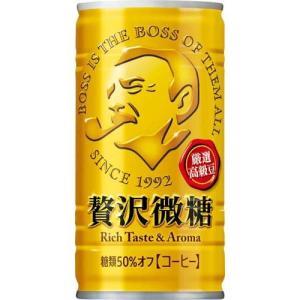 ボス 贅沢微糖 ( 185g*30本入 )/ ボス