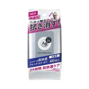 エージーデオ24 クリアシャワーシート NA 無香料 ( 4...
