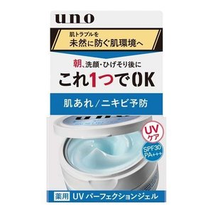 ウーノ 薬用UVパーフェクションジェル ( 80g )/ ウーノ(uno) ( 日焼け止め ) soukai