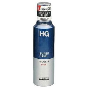 HG スーパーハードムース 硬い髪用a ( 180g )/ HG(エイチジー) ( ムース スタイリング剤 )