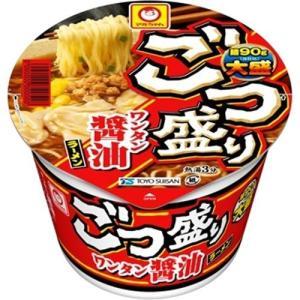 マルちゃん ごつ盛り ワンタン醤油ラーメン ケース ( 12コ入 )/ マルちゃん