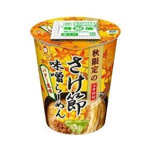 (訳あり)マルちゃん 四季物語 秋限定 さけ節味噌らーめんバター風味 ( 1コ入 )/ マルちゃん